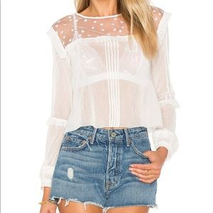 For Love and Lemons Cosmos blouse